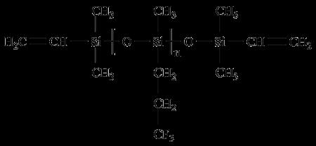 乙烯基氟硅油化学结构式