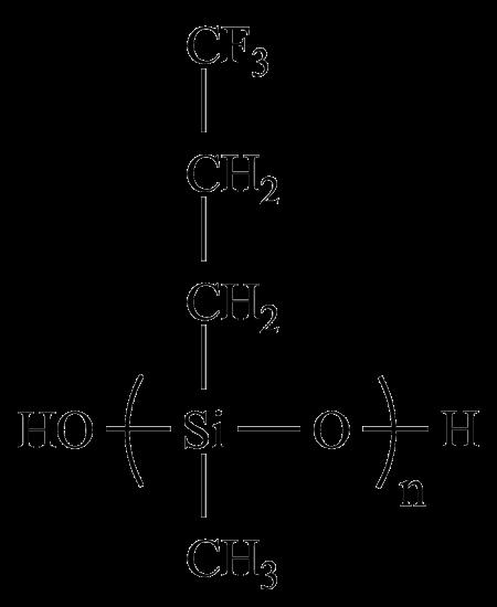 羟基氟硅油化学结构式