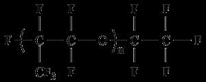 全氟聚醚油结构式